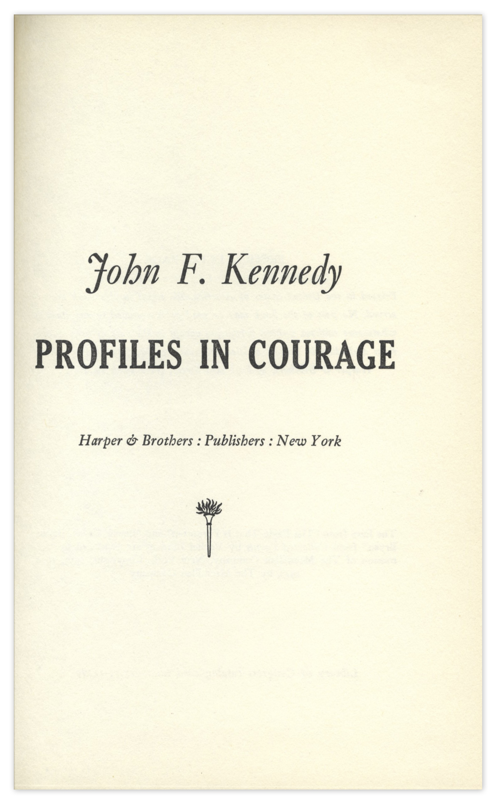 profiles in courage scholarship essay
