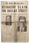23 November 1963 Morning Edition of The Dallas Morning News -- The Day After JFK Was Assassinated