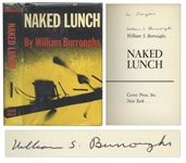 William S. Burroughs Signed First American Edition, First Printing of Naked Lunch