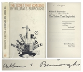 William S. Burroughs Signed First Printing of The Ticket That Exploded