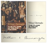 William S. Burroughs Signed First Edition of The Place of Dead Roads