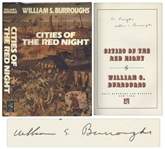 William S. Burroughs Signed First Edition of Cities of the Red Night
