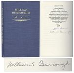 William S. Burroughs Signed Limited Edition of Alan Ansens Essay William Burroughs -- Countersigned by Ansen -- One of 50