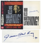 James Earl Ray Signed First Edition of Who Killed Martin Luther King?