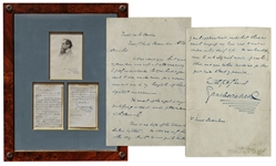 Charles Dickens Autograph Letter Signed From 1854 -- ...The result of the night is very gratifying indeed, and fills me with pleasure...