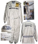Mika Hakkinen Race-Worn Suit From His Final Season Racing in 2007