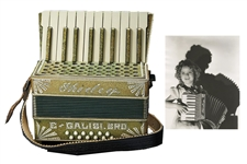 Shirley Temples Very-Own Monogrammed Accordion