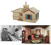 Shirley Temples Large Dollhouse with Tynietoy Furnishings