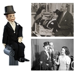 Charlie McCarthy Ventriloquist Doll Gifted to Shirley Temple by Edgar Bergen, with Personal Letter
