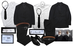 Iconic Black Suits from Men in Black 3 Screen-Worn by Will Smith and Tommy Lee Jones