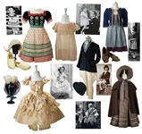 Fantastic Lot of Shirley Temple Screen-Worn Costumes From _ of Her Movie