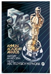 Large 57th Annual Academy Awards Poster