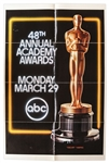 48th Academy Awards Poster From 1976