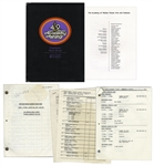 Academy Awards Script, Rundown, Rehearsal Schedule & Cast List -- Internal Document for 1977 Oscar Ceremony