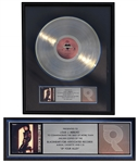 Joan Jett RIAA Gold Record Award for Up Your Alley