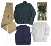 Val Kilmer Wardrobe From the Acclaimed Film At First Sight -- Lot Includes Blind Cane Central to the Movie