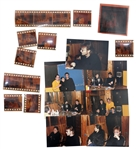 "John Lennon & Yoko Ono Lot of 33 Negatives From ""The Final Interview"" -- Unpublished Photos Taken 2 Days Before His Death at an Interview at the Hit Factory in New York -- With Copyright"