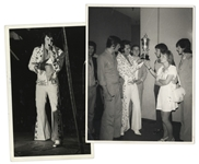 Elvis Presley Lot of Two Press Photos