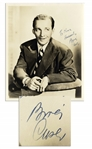 Bing Crosby 8 x 10 Signed Photo