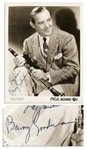 King of Swing Benny Goodman Signed 8 x 10 Photo