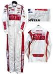 Dale Earnhardt, Jr. Race-Worn & Signed Fire Suit & Gear Bag -- With COA From Earnhardts Company