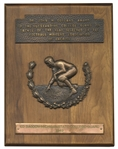 1949 Outland Trophy Presented to Michigan States Ed Bagdon as the Outstanding College Football Interior Lineman