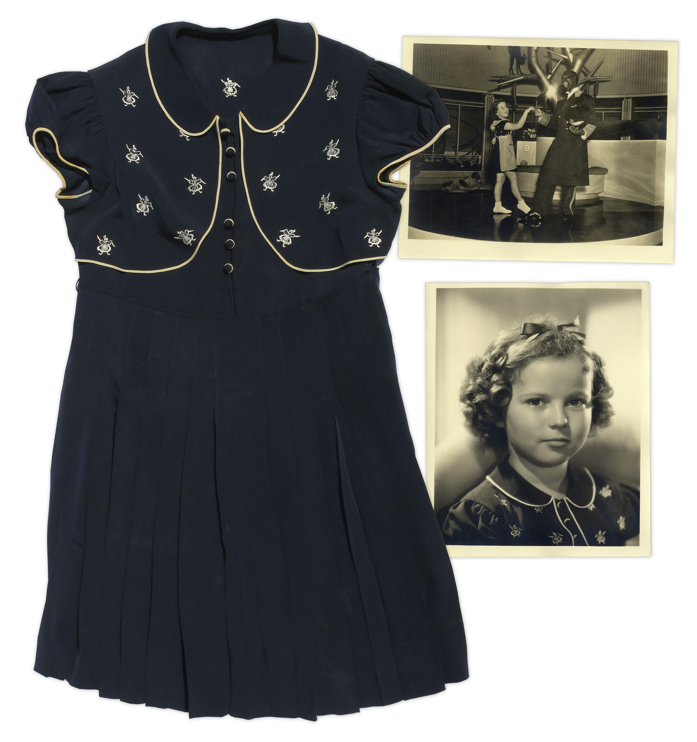500d264bdf21e Shirley Temple Lot of 57 Screen-Worn Costumes From Her Most Beloved Films  ...