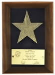 Lorne Greene Hollywood Walk of Fame Award -- For His Starring Roles on Bonanza and Battlestar Galactica -- With an LOA From His Estate
