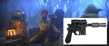 "Luke Skywalkers DL-44 ""Hero"" Blaster From The Empire Strikes Back -- Scarce Piece of Star Wars Memorabilia -- With Sothebys Provenance"