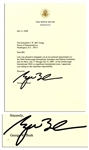 George W. Bush Typed Letter Signed as President From 2006 -- ...I appreciate your taking on this important responsibility...