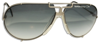 Michael Jacksons Personally Owned and Worn Aviator Sunglasses From the Victory Tour in 1984 - With a COA From Henry Vaccaro