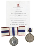 Duchess of Windsor Personally Owned Medallion Commemorating the Silver Jubilee of Queen Elizabeth II