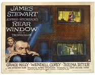 Movie Poster for Alfred Hitchcocks Rear Window -- Starring James Stewart & Grace Kelly
