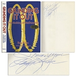 Ray Kroc Signed First Edition of Grinding It Out: The Making of McDonalds