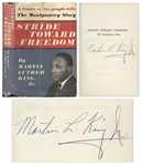 Martin Luther King, Jr. Signed First Edition of Stride Toward Freedom -- Uninscribed