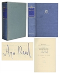 Ayn Rand Signed Atlas Shrugged -- Special 10th Anniversary Edition Limited to 2,000 -- With Rare Slipcase & Dustjacket in Unusually Good Condition