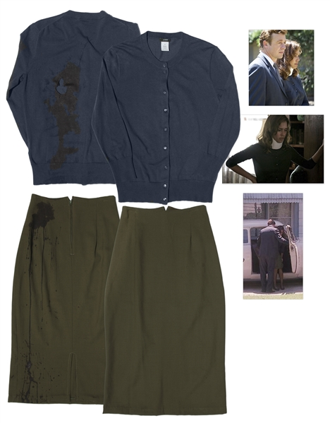 Jessica Alba Screen-Worn Outfit from ''The Killer Inside Me'' -- Dramatic With Movie Studio Blood