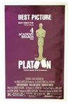 Academy Awards Poster for 1986 Best Picture Platoon