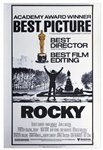 Academy Awards Poster for 1976 Best Picture Rocky