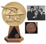 The Beatles 1966 Battle of the Giants Award -- Scarce Beatles Award Which Rarely Come to Auction -- Christies Provenance
