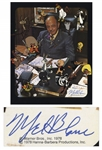 Mel Blanc Signed 8 x 10 Photograph -- Blanc Also Writes Eh Whats Up Steve? Bugs Bunny & Gang