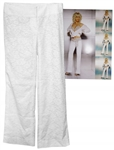 Cher Worn Dolce & Gabbana Pants -- From Photo Shoot for Her Living Proof Tour