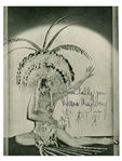 Anna May Wong Signed Photo From Shanghai Express