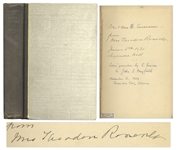 Edith Roosevelt Signed Book Ventures in Book Collecting