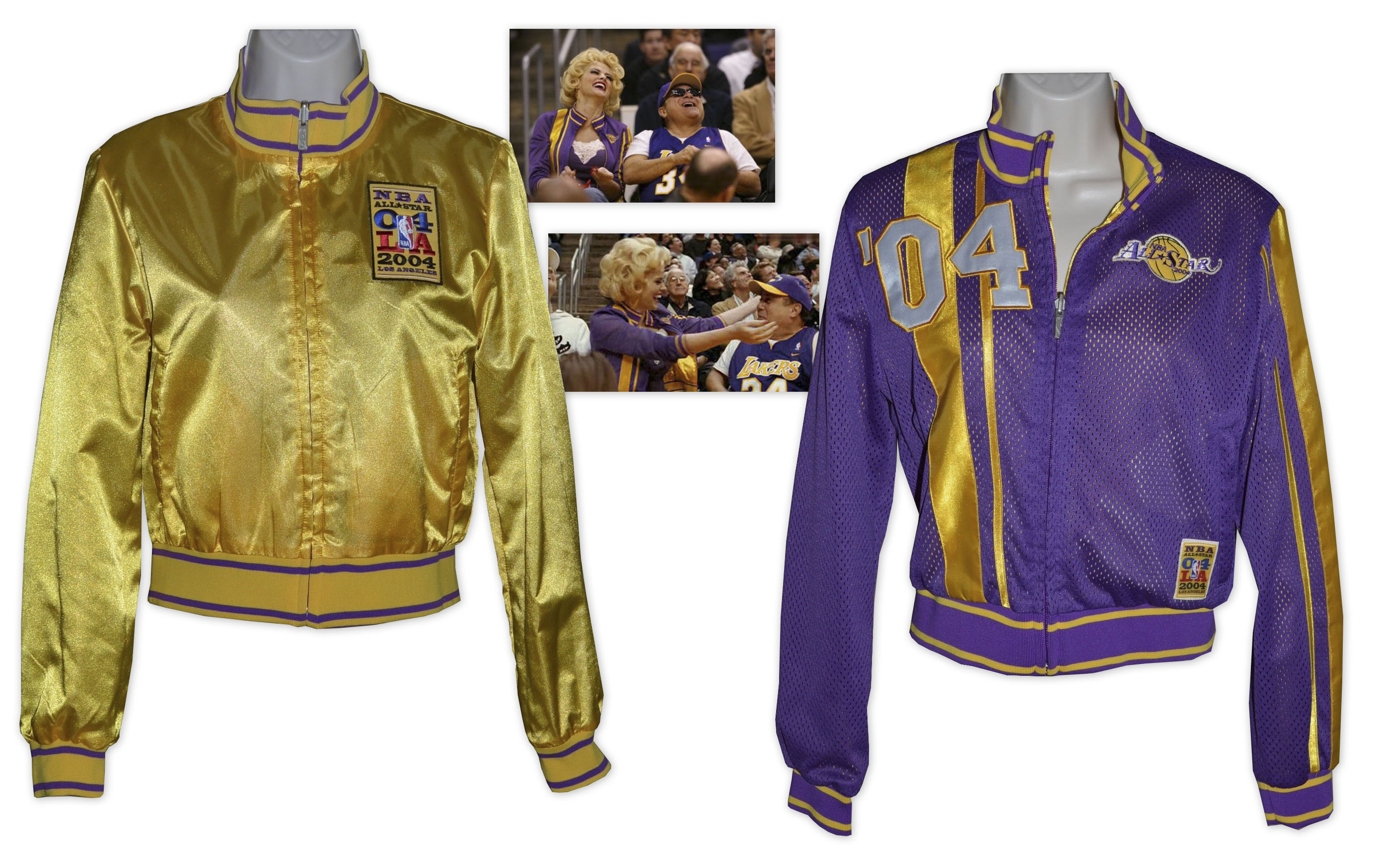 Anna Nicole Smith Screen-Worn Lakers Jacket
