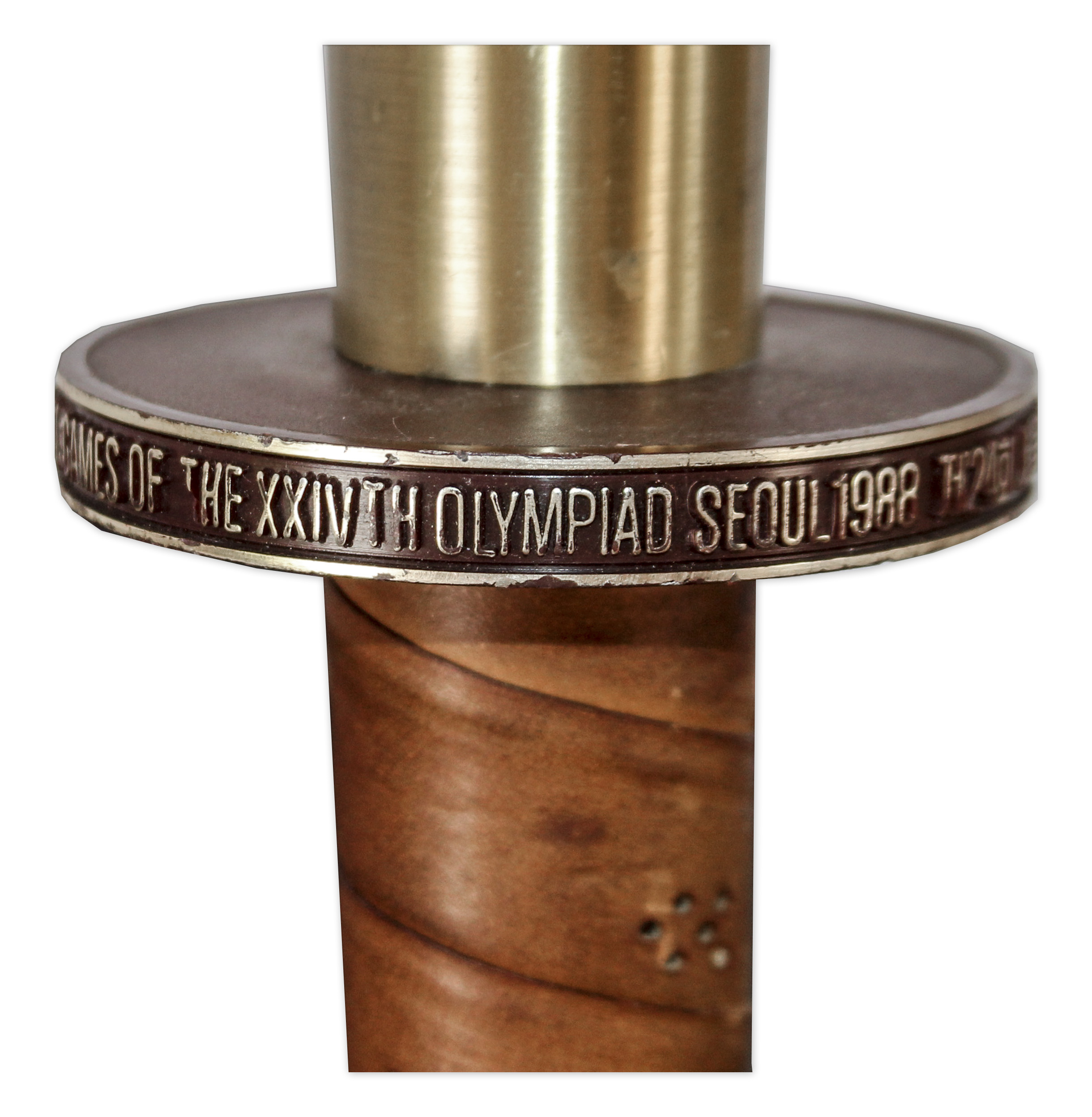 Lot Detail - Olympic Torch Used in the 1988 Seoul Summer Games