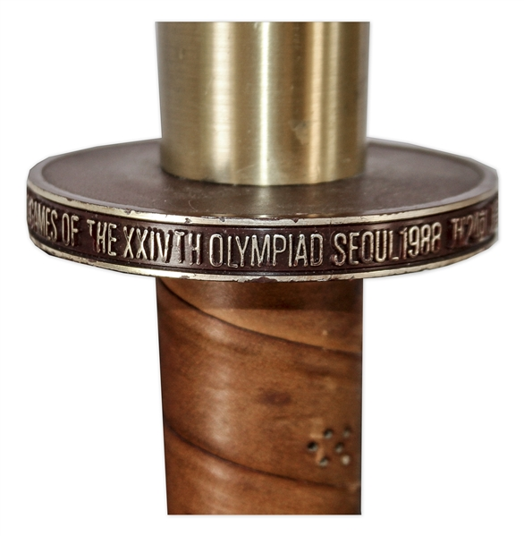 Olympic Torch Used in the 1988 Seoul Summer Games