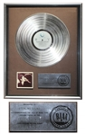 John Lennon & Yoko Ono RIAA Platinum Record Award for Double Fantasy -- From George Marino Estate