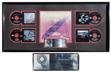 Led Zeppelin RIAA Platinum Record Award for Led Zeppelin Boxed Set -- From George Marino Estate