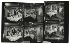 "Elvis Contact Sheet of Photos From ""G.I. Blues"""